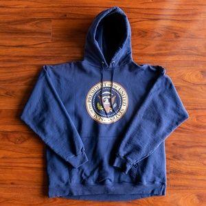 Vintage Seal of The President POTUS Hoodie